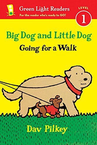 Big Dog And Little Dog Going For A Walk (Reader) (Green Light Readers Level 1)