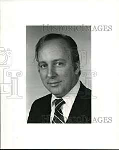 Historic Images 1984 Press Photo Noel Roberts, Candidate Cuyahoga County Clerk Courts 10x8 in