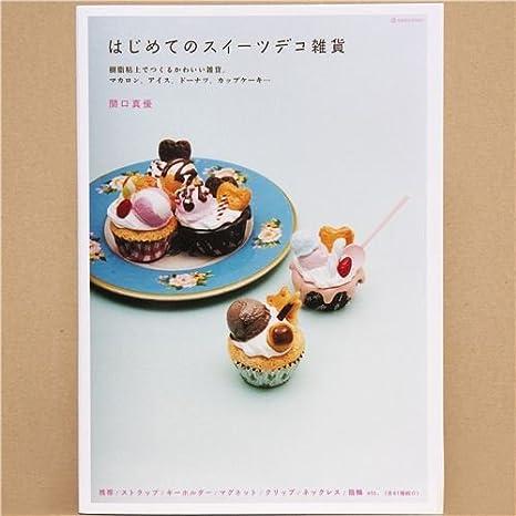 Libro para moldear dulces kawaii de plastilina de