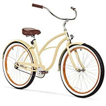 sixthreezero Women's Scholar Single Speed Beach Cruiser Bicycle