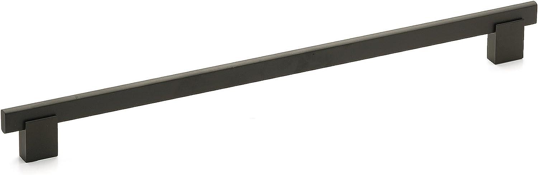 Richelieu Hardware Bp905320900 Contemporary Metal Pull 12 3 5 Matte Black Amazon Com