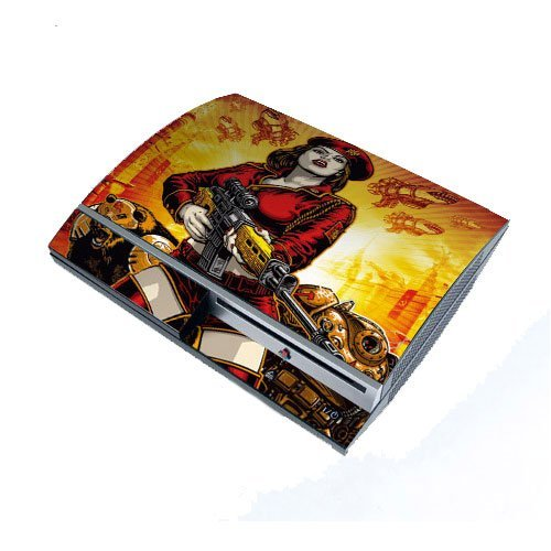 PS3 Playstation 3 Body Protector Skin Decal Sticker, Item No.PS30853-51