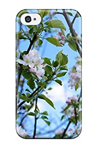 TYH - 4842069K33938287 New Fashionable Cover Case Specially Made For Iphone 4/4s(spring Landscape Desktop) phone case