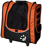 Pet Gear I-GO2 Escort Roller Backpack for cats and dogs, Copper, My Pet Supplies