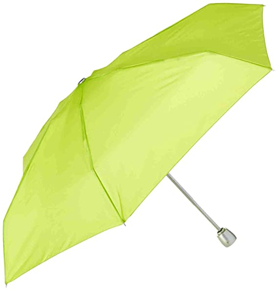 Raines 10-Ounce Automatic Open Mini Travel Umbrella With 42-inch Coverage, Lime