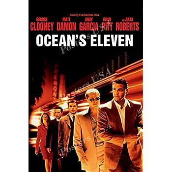 Amazon Com Ocean S Eleven 27x40 Movie Poster Prints