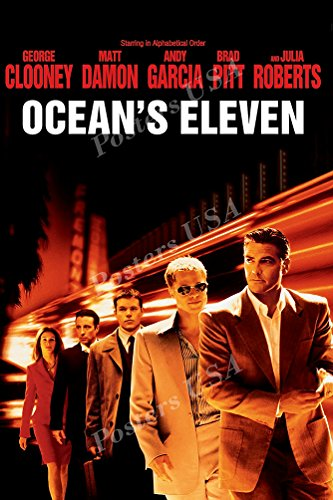 Posters USA - Ocean's Eleven 11 Movie Poster GLOSSY FINISH - MOV317 (24