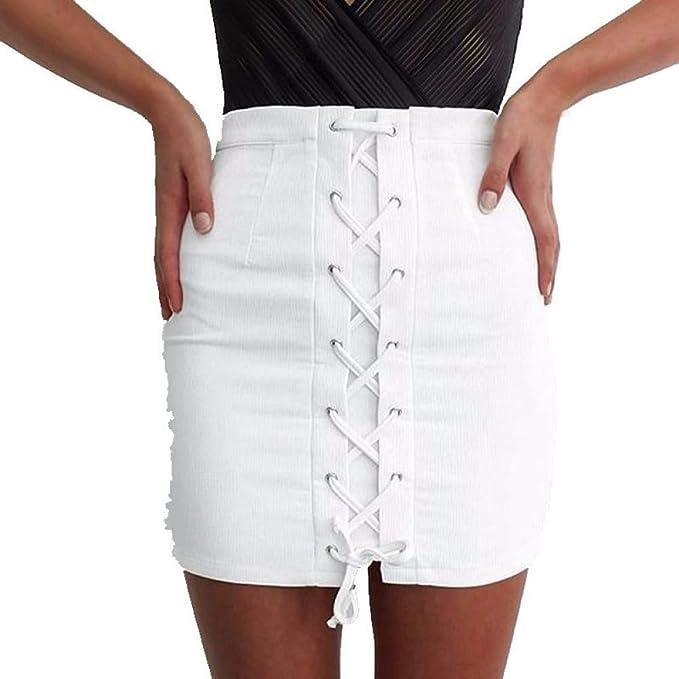 GYYWAN Moda para Mujer Faldas Lápiz Paquete Sexy De Lady Hip Falda ...