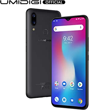 rechercher le dernier prix incroyable magasiner pour l'original Telephone Portable Debloqué, UMIDIGI Power Smartphone Android 9.0 Pie  5150mAh Écran 6.3 Pouces FHD + Waterdrop 64 Go 4 Go Prosseseur Octo-Core  Helio ...