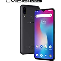 "UMIDIGI Power, Smartphone Android 9.0 Pie 5150mAh 18W 6.3""FHD+ Notch a goccia 4GB+64GB Octa-Core Helio P35 Fotocamera 16MP+5MP, NFC, Global Version - Nero"