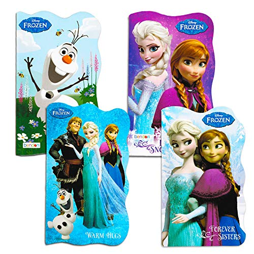 Disney Frozen Board Books (Set of 4 Shaped Board Books)