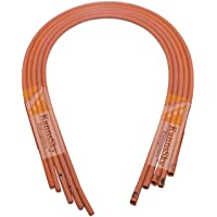 KannsSky Neti Sutra Rubber Tube for Nasal Cleansing (Brown, KS9045) - Pack Of 10
