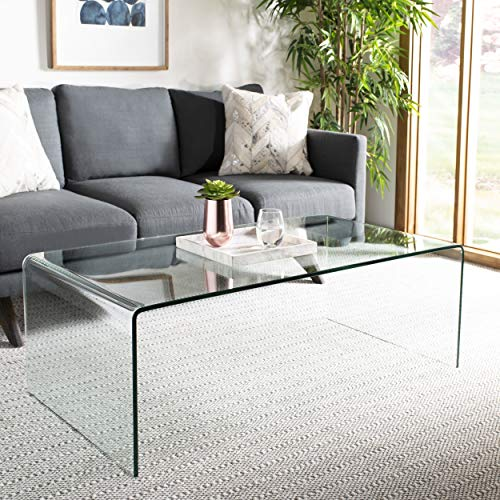Safavieh Home Collection Willow Clear Coffee Table (Willow Collection)