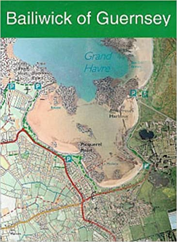 Bailiwick of Guernsey States of Guernsey Official Map Amazoncouk