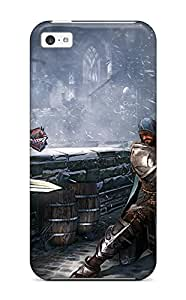 Hot Design Premium QWiutuM554oxxTb Tpu Case Cover Iphone 5c Protection Case(lords Of The Fallen )