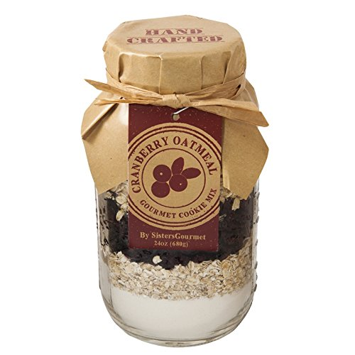 Amazon.com : Sisters Gourmet Cranberry Oatmeal Cookie Mix, 24 Ounce : Grocery & Gourmet Food