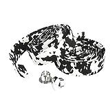 Road Bike / Bicycle Cork Handlebar Tape / Wrap (White with Black)