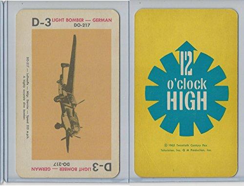 1965 Milton Bradley, 12 O'clock High, 1965, D3 DO-217 German ()