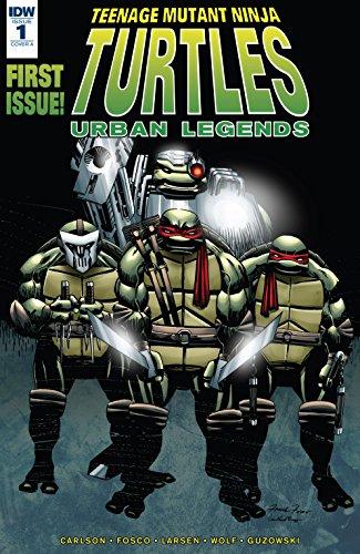 Amazon.com: Teenage Mutant Ninja Turtles: Urban Legends #1 ...