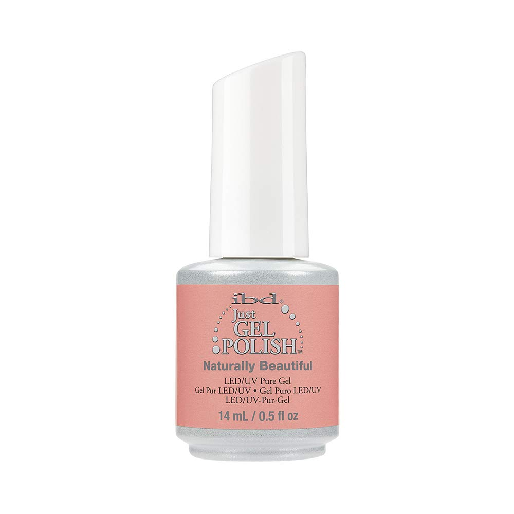 IBD Just Gel Nail Polish, Naturally Beautiful, 0.5 Fluid Ounce