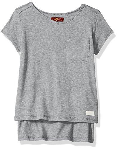 Girl Mankind For 7 m de manga Camiseta All corta q640xw