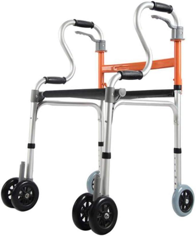 Ming vietcong Seis Rueda de Andador de Walker con Asiento tertem, Saxon Frenos, Grosor de Aluminio aleación discapacitados Walker Puede un baño nehmen