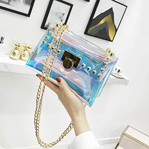 Personality Chain Messenger 2018 Hand Pu Tote Simple The Wild Mini Canvas Bag Bucket Bzx0Pn