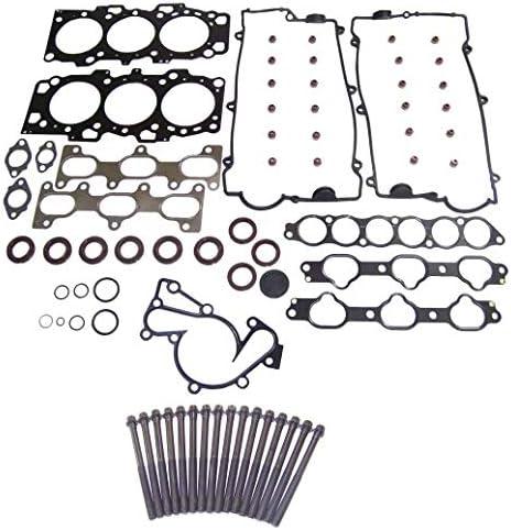 DNJ Head Gasket Set with Head Bolt Kit For 2001-2003 for Hyundai Santa Fe 2.7L 2656cc V6 DOHC