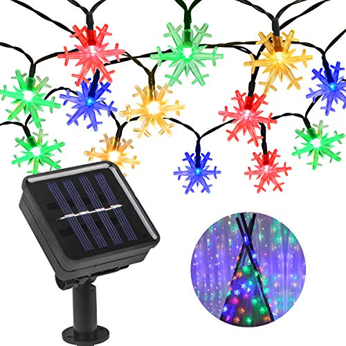 Solar Led Snowflake Lights in US - 8