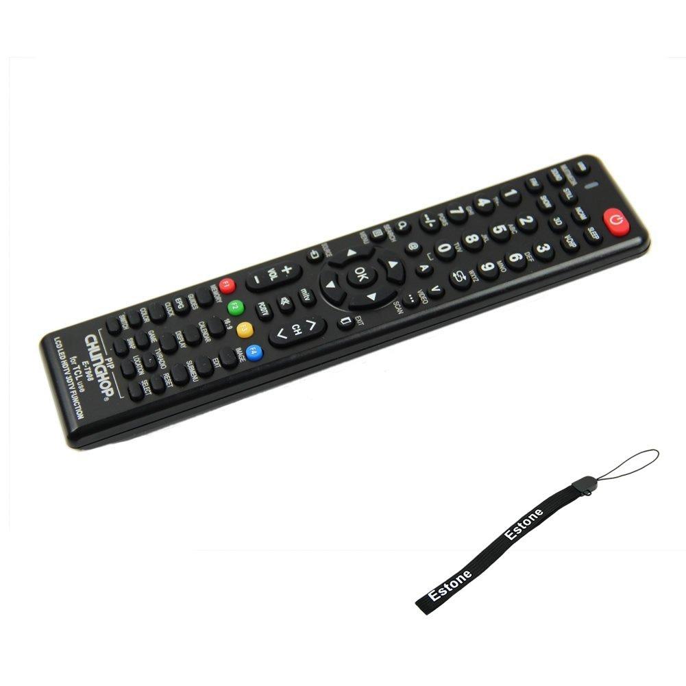 Estone Universal Remote Control For TCL E-P908 LCD LED HDTV Television New