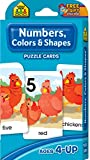 Books : Numbers, Colors and Shapes Puzzle Cards