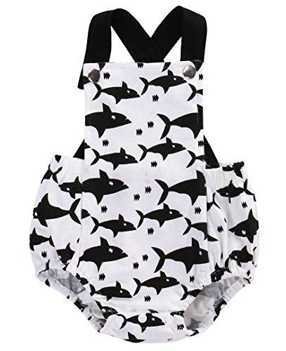 shark baby onesie - 6
