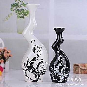 XOYOYO Europäische Möbel Kreative Keramik Vase Handarbeit Dekoration  Einfache Und Moderne Wohnzimmer Einrichtung Tv Display Cabinet