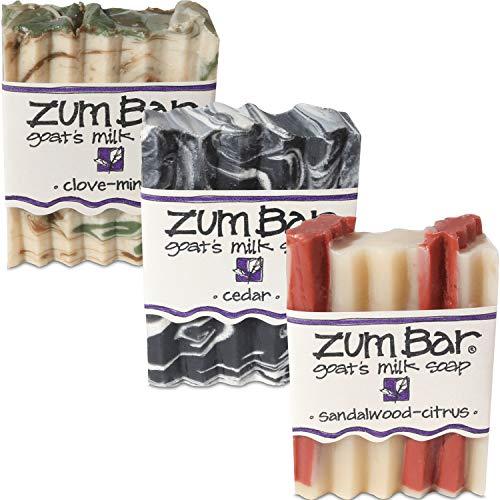 Zum Bar Men's Collection - Cedar, Sandalwood-Citrus & Clove-Mint by Indigo Wild -