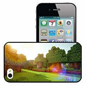 Personalized iPhone 6 4.7 Cell phone Case/Cover Skin Minecraft Nature Games Black