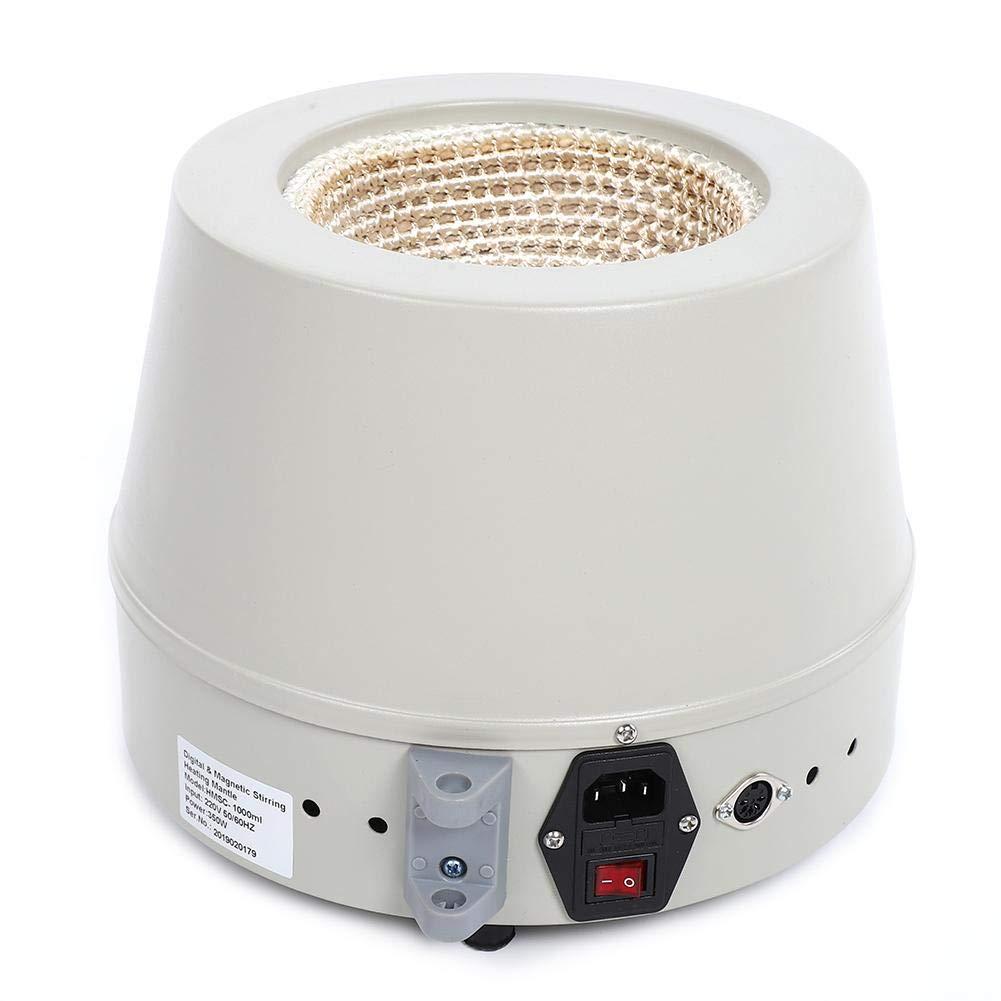 etc industrias petroqu/ímicas HMSC1000ml Calentamiento eficiente Calentador el/éctrico el/éctrico M/áquina agitadora Laboratorio Equipo mezclador profesional para colegios Manto agitador magn/ético