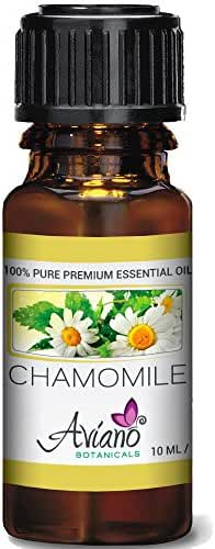 Roman Chamomile Essential Oil Ultra-Premium 100% Pure Therapeutic Grade - 10ml By Avíanō Botanicals
