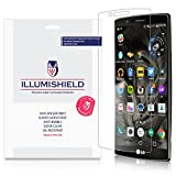 iLLumiShield Screen Protector Compatible with LG G4 (3-Pack) Clear HD Shield Anti-Bubble and Anti-Fingerprint PET Film