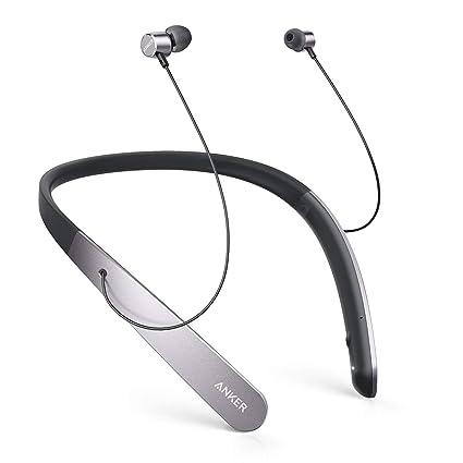 Anker SoundBuds Life, auriculares Bluetooth inalámbricos ligeros con banda para el cuello, IPX5 resistentes