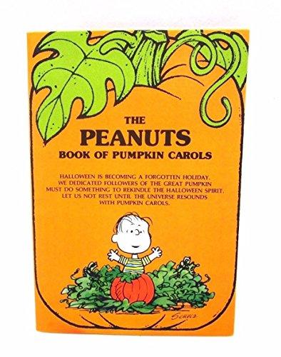 The Peanuts Book of Pumpkin Carols Vintage Hallmark Halloween Card 1971