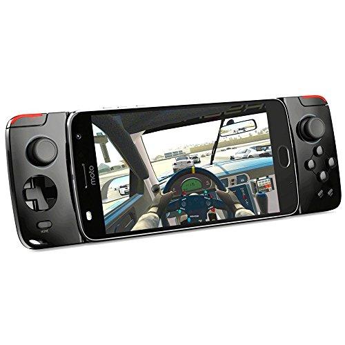 Motorola Moto Mod – Gamepad Compatible con la Gama Moto Z (batería integrada de 1035 mAh, Botones y Controles Reales)