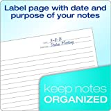 TOPS FocusNotes Note Taking System 1-Subject Notebook, 11 x 9 Inches, White, 100 Sheets (90223) - Black (3)