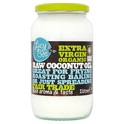 Lucy Bee Extra Virgin Organic Raw Fair Trade Coconut Oil 1lt