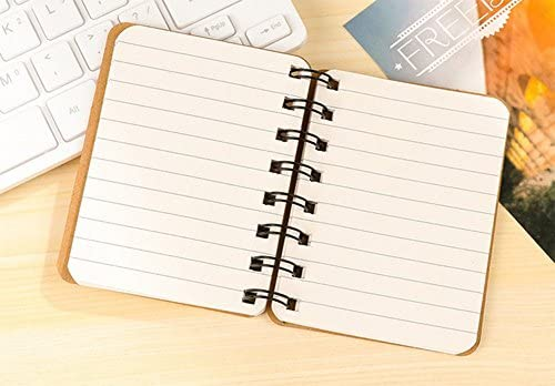 Gespout Cuaderno Notas Infantil Papelería Libreta Papel Blanco Cuadernos Estudiante Agenda Libro Notas Pintura Viaje 10 * 8CM (Amarillo): Amazon.es: Oficina y papelería