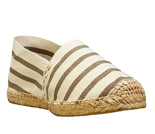 DIEGOS Stripes Women's Jute Men's Espadrilles in Hand Spain Made rrnTA168q