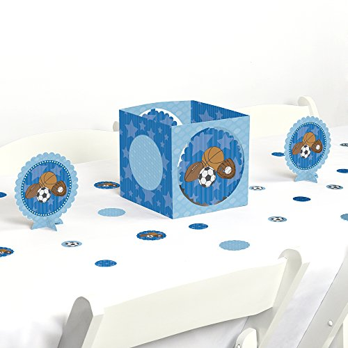 All Star Sports Table (All Star Sports - Baby Shower or Birthday Party Centerpiece & Table Decoration Kit)