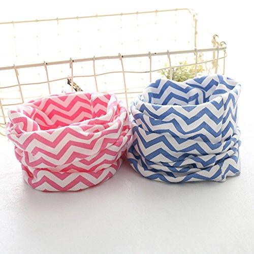 Dreamyth Winter Boys Girls Baby Cute Scarf Cotton O Ring Neck Scarves