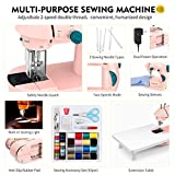 Magicfly Mini Sewing Machine for Beginner, Dual