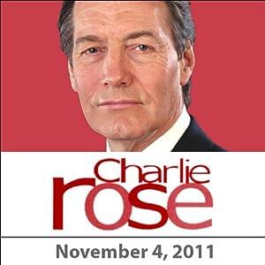 Charlie Rose: Joan Didion, Mark Halperin, Maggie Haberman, Gillian Tett, and Ian Bremmer, November 4, 2011 Radio/TV Program