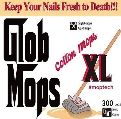 Glob Mobs XL Cotton Swabs - Extra Absorbent - Eco Friendly - 300 Count